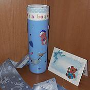 Подарки к праздникам handmade. Livemaster - original item Vase for flowers