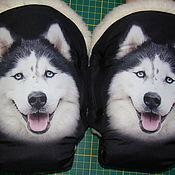 Муфта на коляску и санки - Хаски - 24 цвета ткани на любую коляску.