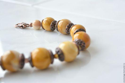 браслет , браслет в подарок , браслет из яшмы ,желтый браслет , горчичный цвет , украшение , подарок , купить браслет