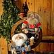 Сказочные персонажи ручной работы. Ярмарка Мастеров - ручная работа. Купить Текстильная интерьерная кукла - Домовой. Handmade. Разноцветный, домовой