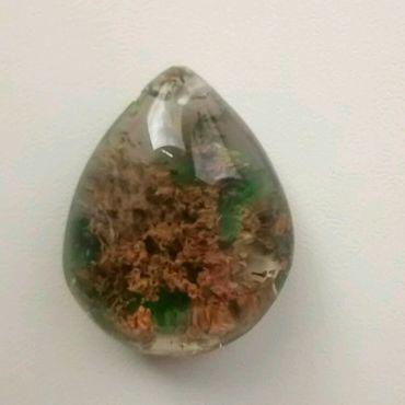 Materials for creativity handmade. Livemaster - original item Pendant-a pendant made of a phantom quartz,26h20h10mm.. Handmade.