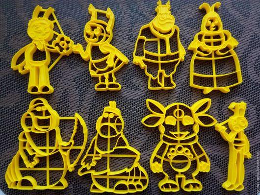 Кухня ручной работы. Ярмарка Мастеров - ручная работа. Купить Лунтик и его друзья  - вырубка для печенья, пряников, мастики. Handmade.
