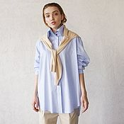 Одежда handmade. Livemaster - original item BlueChick women`s shirt. Handmade.
