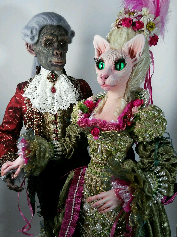 Коллекционные куклы ручной работы. Ярмарка Мастеров - ручная работа. Купить Эстрелла авторская кукла эксклюзив. Handmade. Кошка