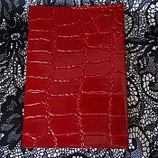 Канцелярские товары ручной работы. Ярмарка Мастеров - ручная работа Обложка для паспорта кожаная. Handmade.