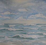 Картины и панно ручной работы. Ярмарка Мастеров - ручная работа Море.Осень.. Handmade.