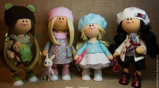 Коллекционные куклы ручной работы. Ярмарка Мастеров - ручная работа. Купить Куколка-малышка. Рост 30 см. Handmade. Комбинированный