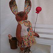 Куклы и игрушки ручной работы. Ярмарка Мастеров - ручная работа Тэдди кролик Тэя.  18см. Handmade.