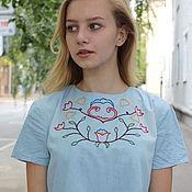 """Одежда ручной работы. Ярмарка Мастеров - ручная работа платье """"Голубое небо"""". Handmade."""