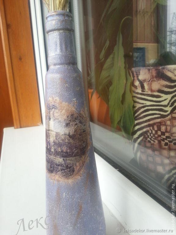 Декоративные вазы. Декупаж