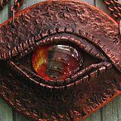 Украшения ручной работы. Ярмарка Мастеров - ручная работа Подвеска Бронзовый дракон. Handmade.