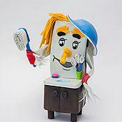 Кукольный театр ручной работы. Ярмарка Мастеров - ручная работа Мойдодыр. Handmade.
