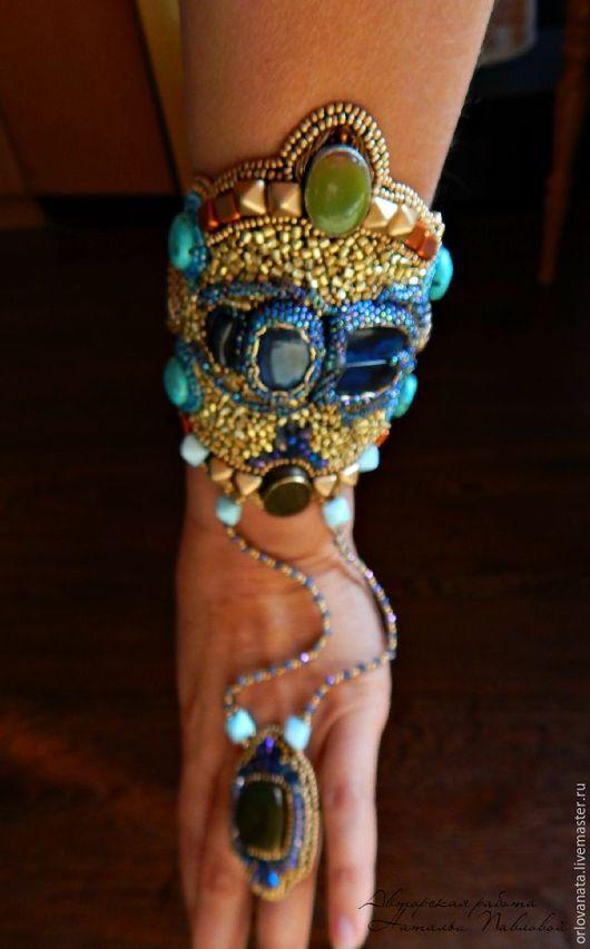 """Браслеты ручной работы. Ярмарка Мастеров - ручная работа. Купить Браслет """" Египет """". Слейв браслет. Handmade. Комбинированный"""