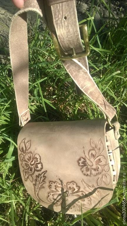 Винтажная летняя сумочка.
