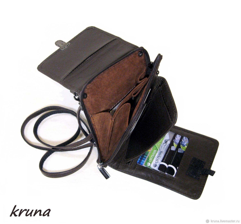 2f38a12c3aaa Купить Портмоне-мини- · Мужские сумки ручной работы. Портмоне-мини-планшет  мужской из натуральной кожи.
