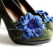 Украшения handmade. Livemaster - original item Set of brooches for shoes