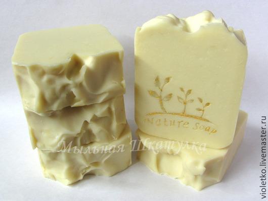Мыло ручной работы. Ярмарка Мастеров - ручная работа. Купить Натуральное мыло(мыло с нуля)Детское. Handmade. Белый, мыло натуральное