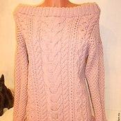 Одежда ручной работы. Ярмарка Мастеров - ручная работа Платье спицами. Handmade.