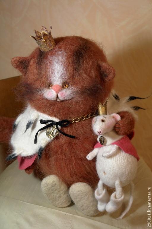 Коллекционные куклы ручной работы. Ярмарка Мастеров - ручная работа. Купить King. Handmade. Рыжий, король, новогодний подарок