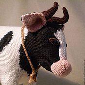 Куклы и игрушки ручной работы. Ярмарка Мастеров - ручная работа Корова. Handmade.