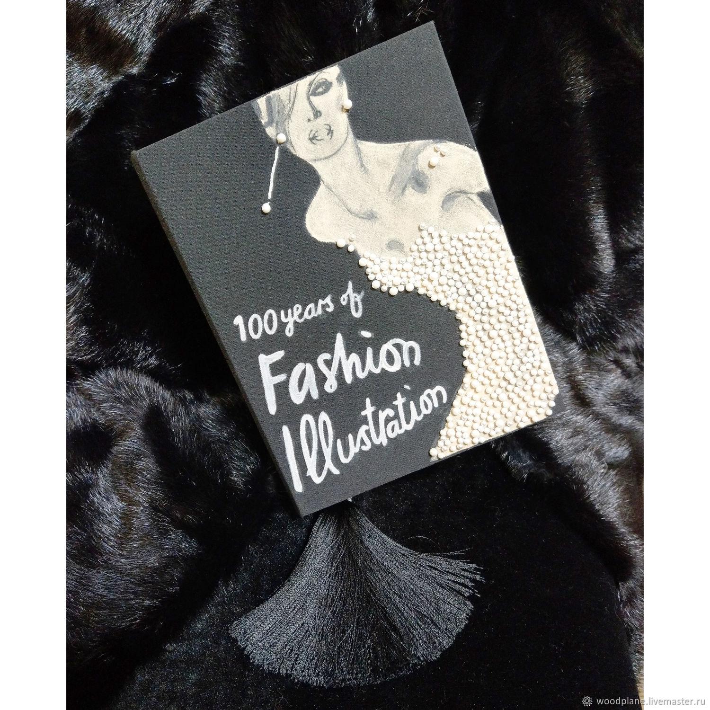 """... """"100 Years of Fashion Illustration"""". Клатчбук. Женские сумки ручной  работы. Ярмарка Мастеров - ручная работа."""