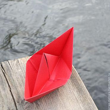 Подарки к праздникам ручной работы. Ярмарка Мастеров - ручная работа Морские лодочки для фотосессии и оформления праздника. Handmade.