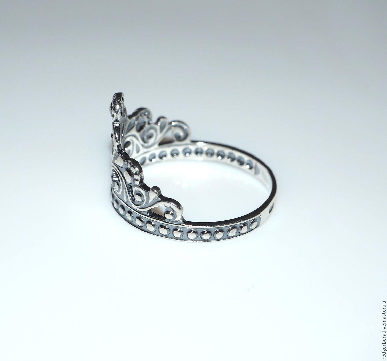 кольца женские корона