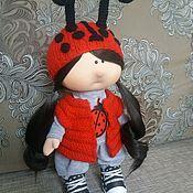Тыквоголовка ручной работы. Ярмарка Мастеров - ручная работа Кукла интерьерная. Handmade.