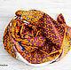 """Шали, палантины ручной работы. Ярмарка Мастеров - ручная работа. Купить Натуральный шелковый платок из ткани HERMES """"Cheval Phoenix"""". Handmade."""