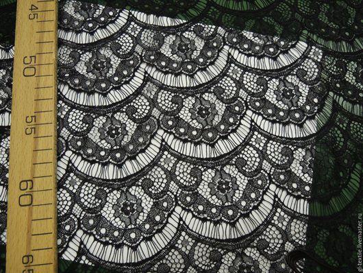 Шитье ручной работы. Ярмарка Мастеров - ручная работа. Купить Шантильи (3 вида). Handmade. Черный, полиэстер