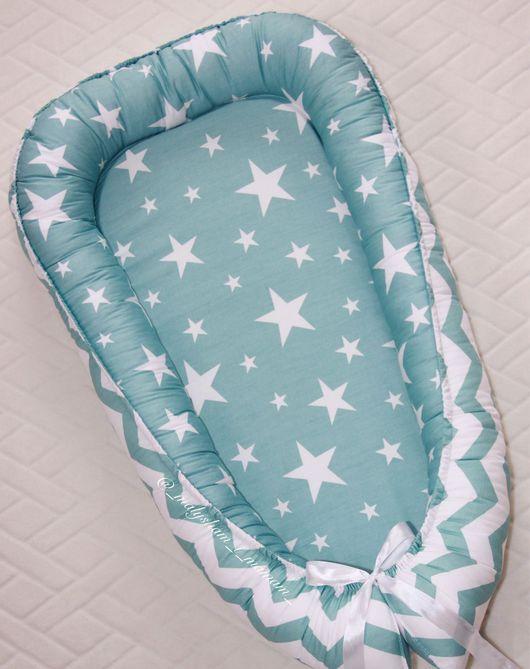 Для новорожденных, ручной работы. Ярмарка Мастеров - ручная работа. Купить Гнездышко для новорождённых. Handmade. Комбинированный, детский текстиль, babynest