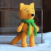 Куклы и игрушки handmade. Livemaster - original item Fox. Handmade.