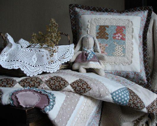 """Текстиль, ковры ручной работы. Ярмарка Мастеров - ручная работа. Купить """"Зайкино лето"""" лоскутный комплект. Handmade. Детство, сказка"""