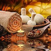 Фен-шуй и эзотерика handmade. Livemaster - original item Massage with herbal bags. Handmade.