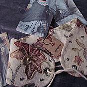 Одежда handmade. Livemaster - original item EMBROIDERED CORSET BELT WIDE. Handmade.