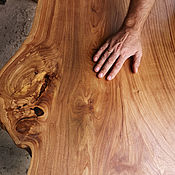 Столы ручной работы. Ярмарка Мастеров - ручная работа Стол из слэба Вяза 1.7 м. Handmade.