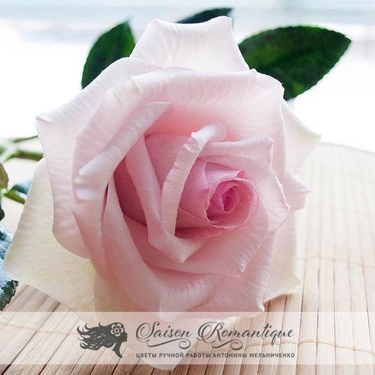 """Цветы ручной работы. Ярмарка Мастеров - ручная работа. Купить Роза из полимерной глины сорт """"Belmonte"""". Handmade. Роза, розы"""