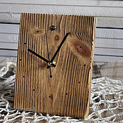 Для дома и интерьера handmade. Livemaster - original item Table wall clock wood