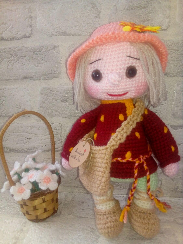 Кукла домовенок Кузя, Амигуруми куклы и игрушки, Краснодар,  Фото №1