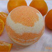 Косметика ручной работы. Ярмарка Мастеров - ручная работа Апельсиновая бомбочка. Handmade.
