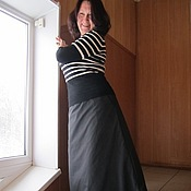 Одежда ручной работы. Ярмарка Мастеров - ручная работа Юбка зимняя. Handmade.