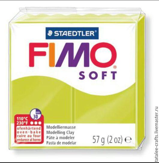 Для украшений ручной работы. Ярмарка Мастеров - ручная работа. Купить Зеленый лайм ( 52  ) - Fimo Soft. Handmade.