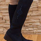 Обувь ручной работы. Ярмарка Мастеров - ручная работа Сапоги зимние валяные. Handmade.