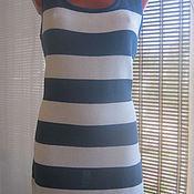 Одежда ручной работы. Ярмарка Мастеров - ручная работа Платье Stripe. Handmade.