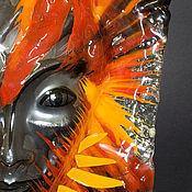 """Маски ручной работы. Ярмарка Мастеров - ручная работа стеклянная маска """"Локи"""". Handmade."""