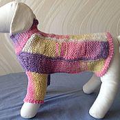 Для домашних животных, ручной работы. Ярмарка Мастеров - ручная работа Свитер радужный для маленькой собачки. Handmade.