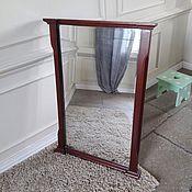Для дома и интерьера handmade. Livemaster - original item mirror in oak frame. Handmade.