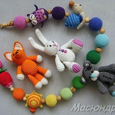 Слингобусы со сменными игрушками