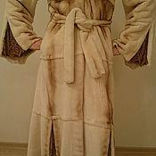 Одежда ручной работы. Ярмарка Мастеров - ручная работа Шуба из стриженной норки с канадским соболем.. Handmade.
