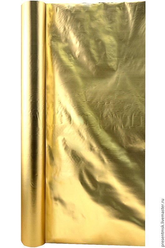 Упаковка ручной работы. Ярмарка Мастеров - ручная работа. Купить Полисилк. Handmade. Золотой, упаковка подарка, материалы для флористики, полисилк